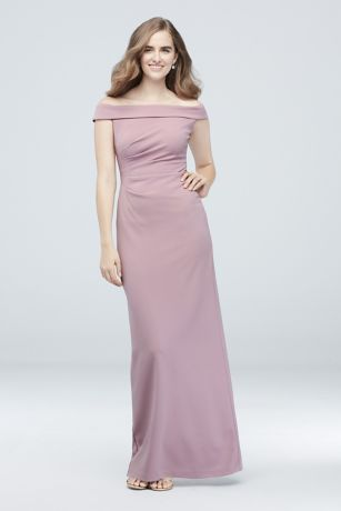 Soft Flowy Db Studio Long Bridesmaid Dress