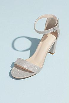 Block Heel Ankle Strap Sandal ARYA