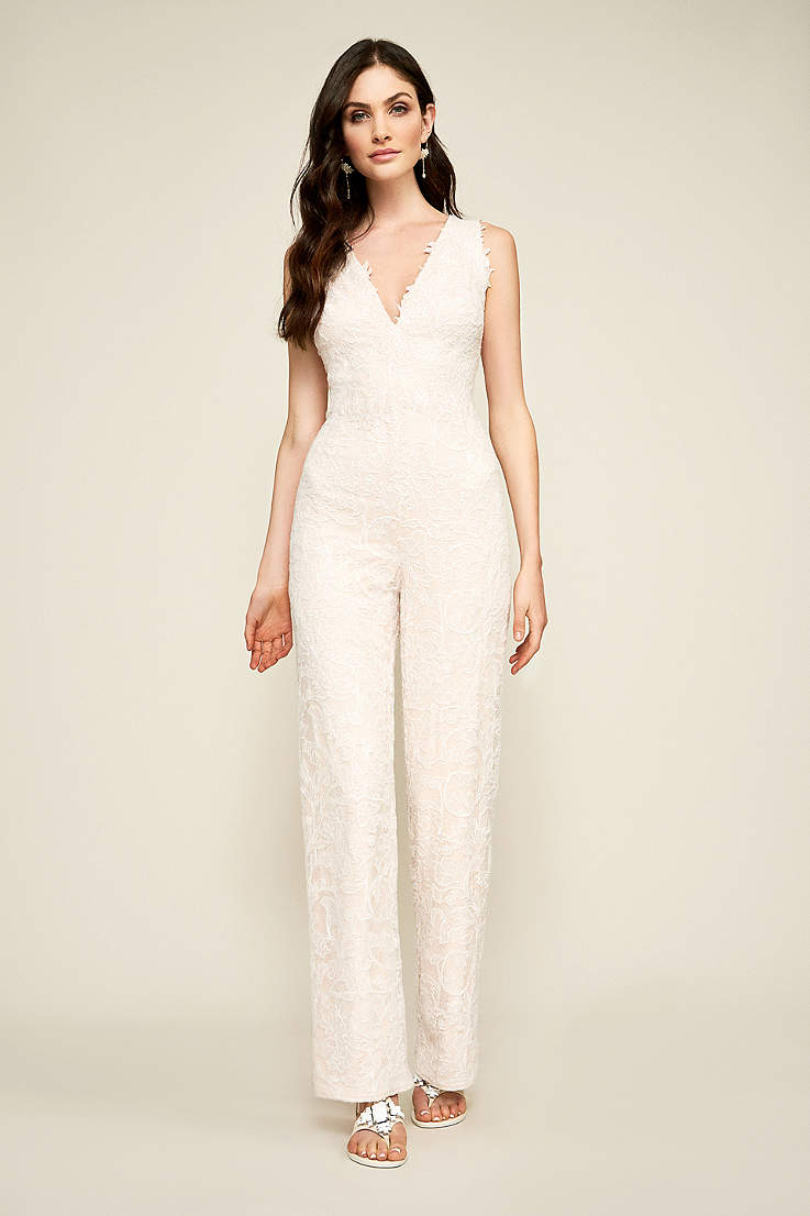 Wedding Jumpsuits Pantsuits Rompers Davids Bridal