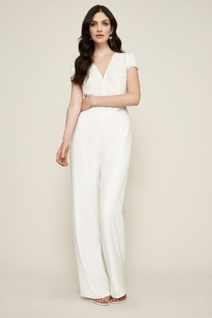 Crepe Jumpsuit with Side Pockets