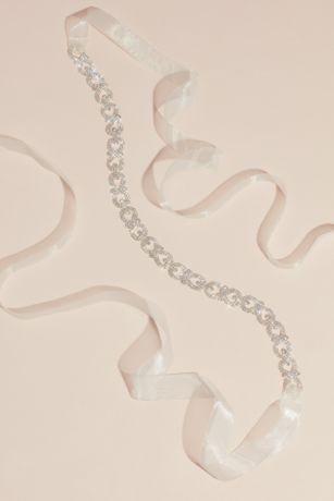 Pave Crystal Infinity Link Sash