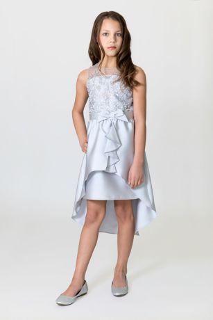 High Low A-Line Sleeveless Dress - US Angels