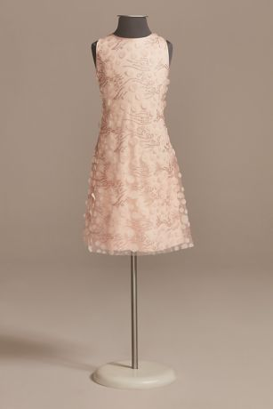 Tea Length A-Line Sleeveless Dress - US Angels