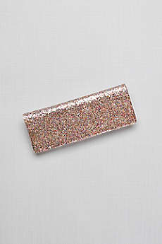 Fallon Allover Glitter Envelope Clutch
