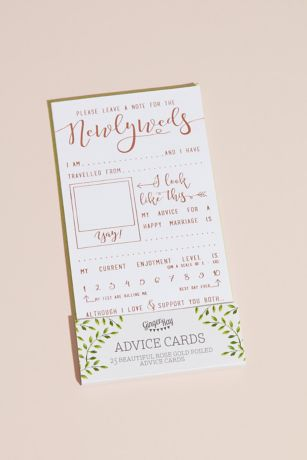 Happily Ever After Advice Cards