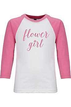 Sporty Flower Girl T-Shirt