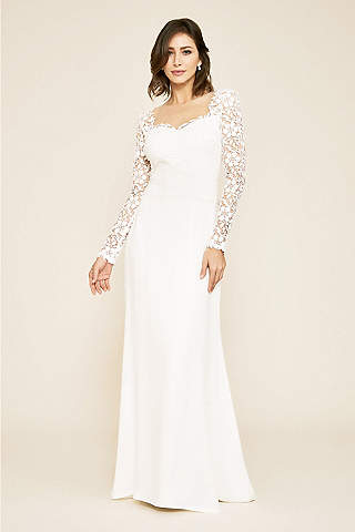 Long Sleeve Wedding Dresses Gowns David S Bridal