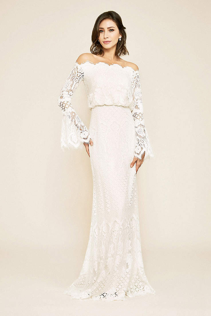 86e2ffda33ef Long Sleeve Wedding Dresses & Gowns | David's Bridal