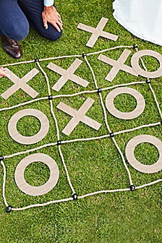 Wood and Rope Outdoor XO Party Game BR-331