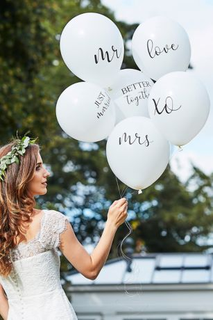 Scripted Wedding Balloon Bundle