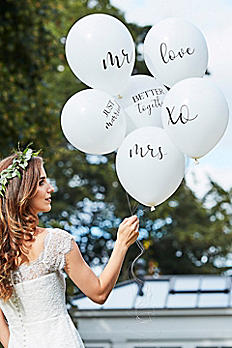 Scripted Wedding Balloon Bundle BR-374