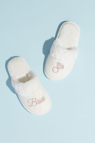 Capelli Pink Slippers (Metallic Embroidered Bride Slippers)