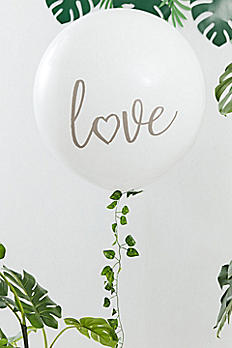 Love Balloon with Botanical Garland BS-411