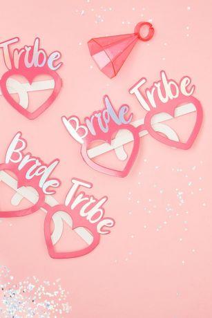 Bride Tribe Photo Prop Glasses