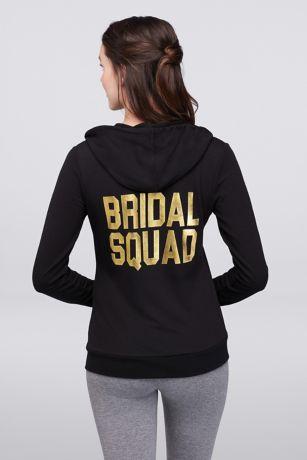 Bridal Squad Zip-Up Hoodie