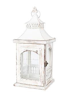 Personalized Rustic Memorial Lantern