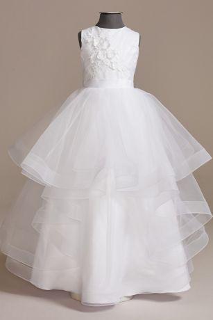 Long Ballgown Strapless Dress - US Angels