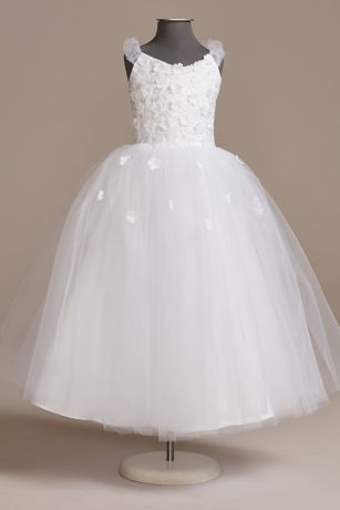 Long Ballgown Cap Sleeves Dress - US Angels