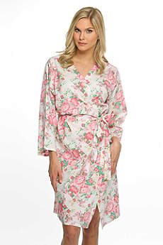 Cotton Floral Robe
