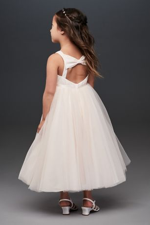 Tea Length Ballgown Tank Dress - David's Bridal