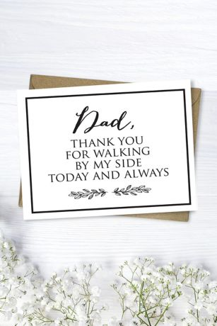 Dad Thank You Card