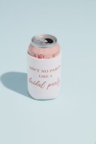Aint No Party Like a Bridal Party Drink Sleeve