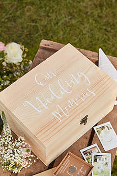 Wedding Memories Wooden Box