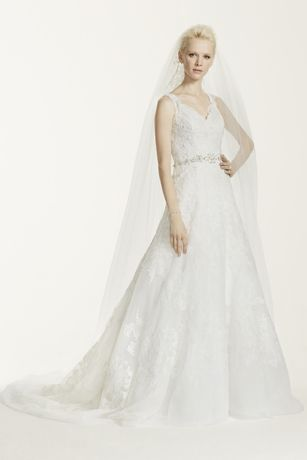 As-Is A-Line Allover Lace Wedding Dress
