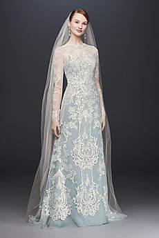 Long Sheath Formal Wedding Dress Oleg Cini