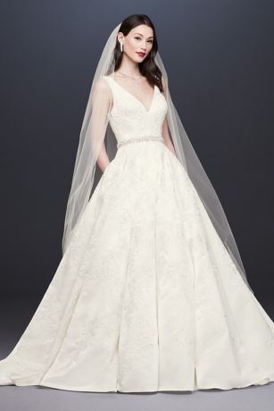 3e784d81a3 Long Ballgown Wedding Dress - Oleg Cassini