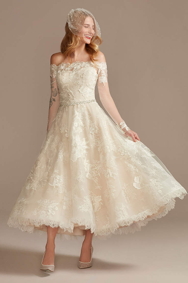 Vintage Wedding Dresses   Lace & Gown Styles   David's Bridal