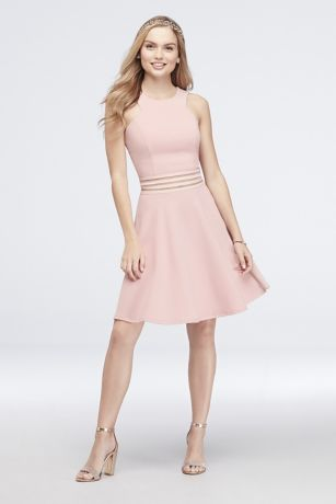 91610bd600 Short A-Line Halter Dress - Speechless
