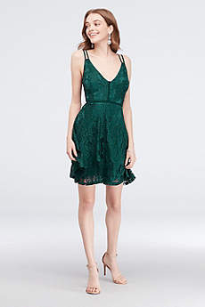 Short A-Line Spaghetti Strap Formal Dresses Dress - Speechless