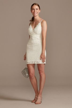 Short Spaghetti Strap Dress - Speechless