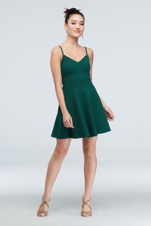 Short Spaghetti Strap Dress - Speechless