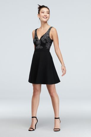 Short A-Line Spaghetti Strap Dress - Speechless