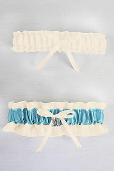 DB Exclusive Crystal Monogram Garter Set