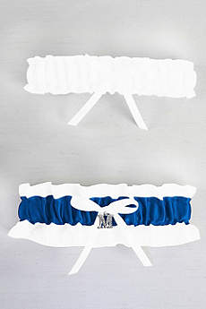 DB Exclusive Plus Size Crystal Monogram Garter Set