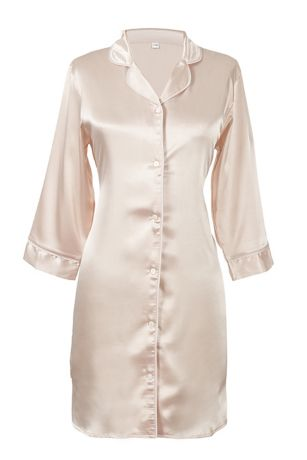 Blank Satin Night Shirt