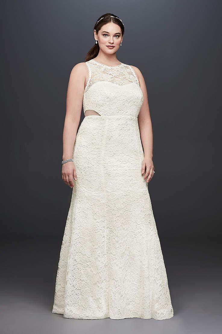 Plus Size Formal Dresses & Evening Gowns | David\'s Bridal