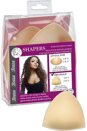 Braza Shapers Triangle Enhancement Pads