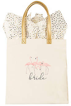 DB Exclusive Bride Flamingo Canvas Tote