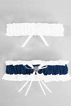DB Exclusive Plus Size Regal Ties Garter Set