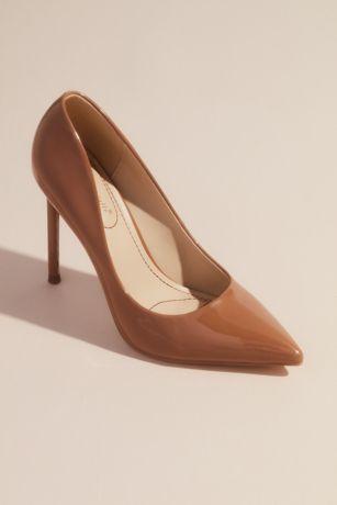 Anne Michelle Beige;Brown Pumps (Classic Pointed Toe Stiletto Pumps)