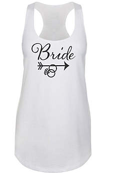 Tribal Bride Racerback Tank Top