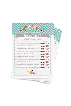 Guess Who Newlywed Game Pack of 25 DBK38947