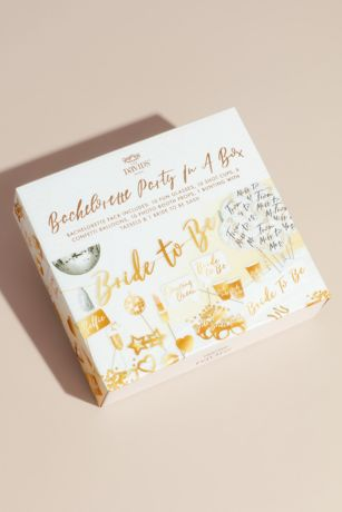Bachelorette Party in a Box Supply Kit with Props