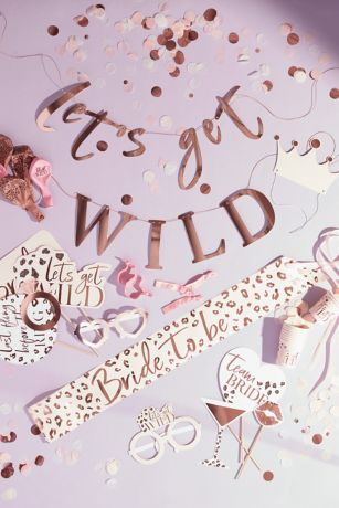 Lets Get Wild Bachelorette Party in a Box