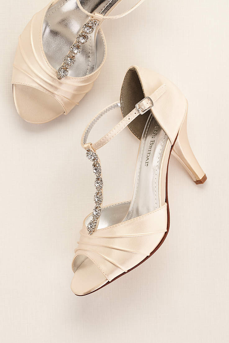 c56342b055203 Dyeable Shoes for Weddings & Bridal Parties | David's Bridal