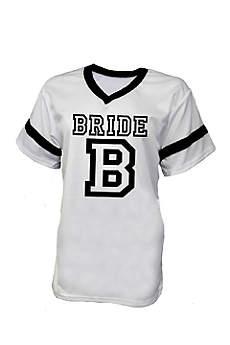 White Bride Football Jersey